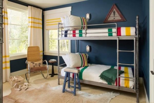 Rustic Kids by Massucco Warner Miller Interior Design