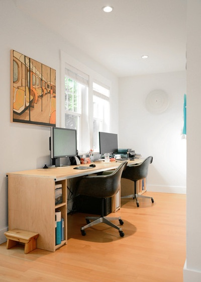 Eclectic Home Office by Jane Vorbrodt