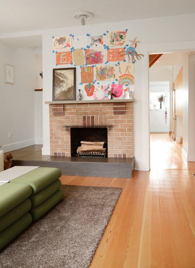 Eclectic Living Room by Jane Vorbrodt