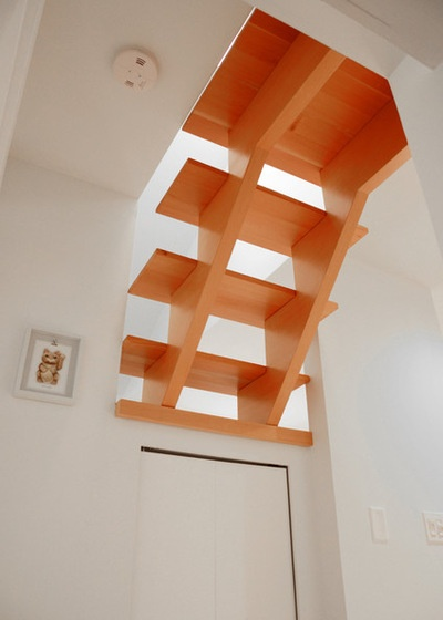 Traditional Staircase by Jane Vorbrodt