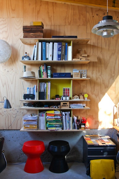 Industrial Home Office by Sushii Photo