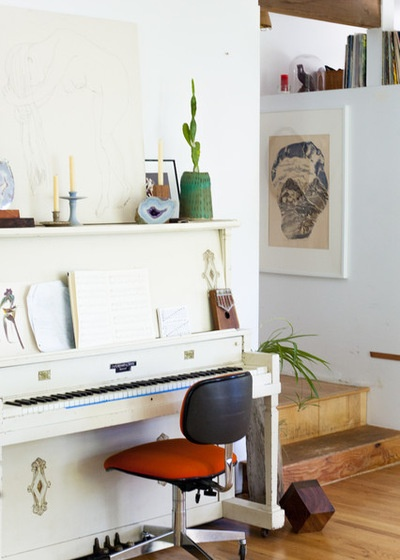 Eclectic Family Room by A Darling Felicity Photography