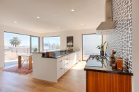 Sleek Kitchen Design Highlights the Views