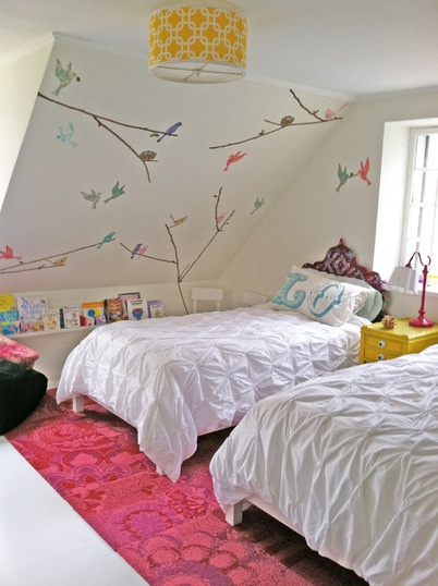 Shabby-chic Style Kids by Dichotomy Interiors