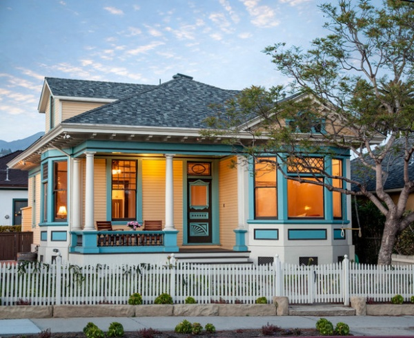 Victorian Exterior by Thompson Naylor Architects Inc