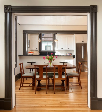 Victorian Dining Room by Thompson Naylor Architects Inc