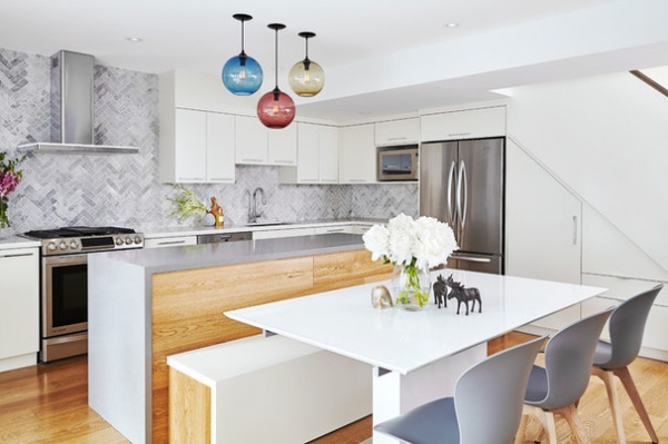 Contemporary Kitchen by Valerie Wilcox: Photographer
