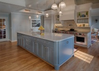Kitchen of the Week: European-Style Cabinets and Better Flow