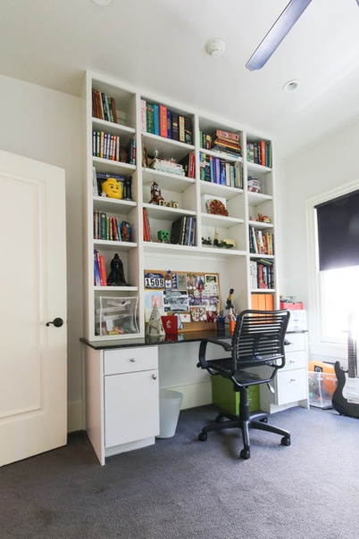 Eclectic Home Office by Michaela Dodd